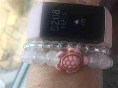 Elaine B. verified customer review of LIMITED EDITION - Pink Sea Turtle Bracelet
