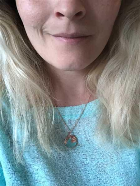 Ocean & Co Copper Wave Necklace Review
