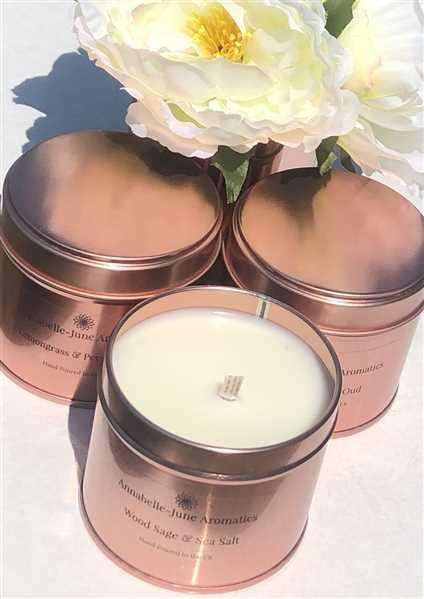 Candle Shack 20cl Candle Tin - Rose Gold Review