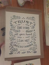 Madeleine M. verified customer review of Trust in the LORD - Proverbs 3:5