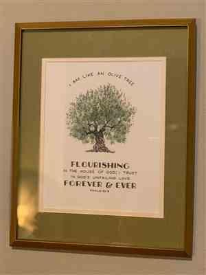 Anita C. verified customer review of Flourishing Olive - Psalm 52:8