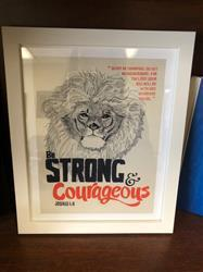 amber f. verified customer review of Be Strong & Courageous - Joshua 1:9