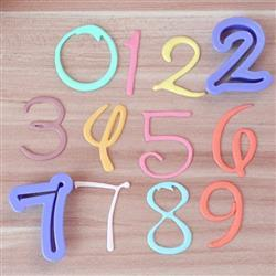 Felicia P verified customer review of 10 PC Set Font Numbers Cutout Sugarcraft Cutters
