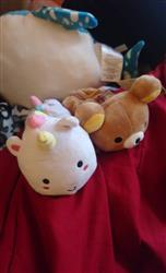 nathalie fernandez verified customer review of Elodie Unicorn Plush Pencil Case