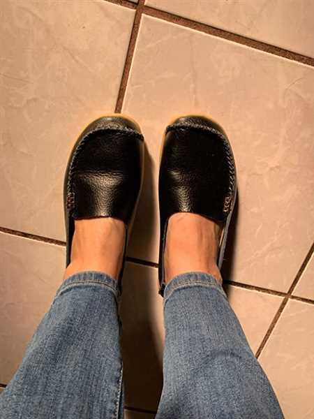 Amy woeppel verified customer review of Women's Comfort Walking Flat Loafer