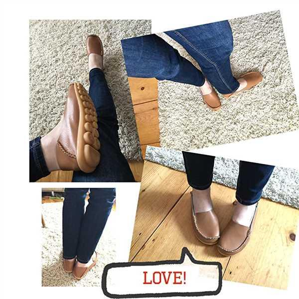 Fiona verified customer review of Women's Comfort Walking Flat Loafer