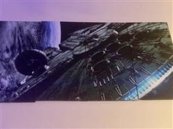 Panel Wall Art Star Wars Millennium Falcon Review
