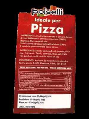 Meredith  verified customer review of Gluten Free Flour ideal for Pizza by Polselli - 2.2 lb.