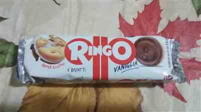 Roberta H. verified customer review of Ringo Vaniglia Cookies with Vanilla Cream by Pavesi (6 packs) - 11.6 oz