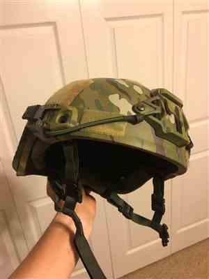 daniel w. verified customer review of Protection Group Denmark ARCH Level IIIA Bullet Proof Helmet