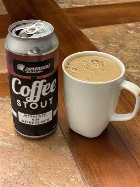 Brendan  verified customer review of Perennial Coffee Stout (2020 Dark Matter Coffee)