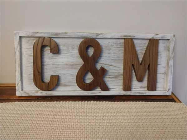 Harp Design Co HDC White Oak Letters Review