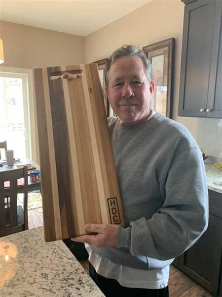 Harp Design Co HDC Striped Charcuterie Board Review