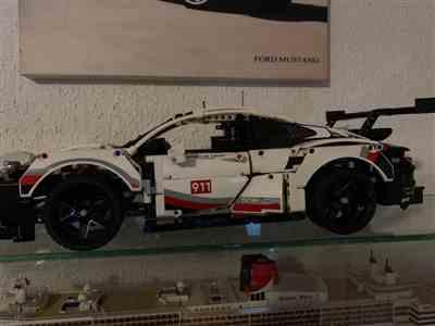 ruben b. verified customer review of LEGO Technic Porsche 911 RSR 42096