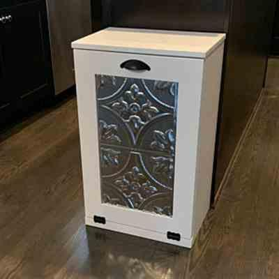 Leslie Tobin  verified customer review of single tilt out trash bin in white-more colors! (S-W)