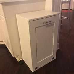 susanm verified customer review of single tilt out trash bin in white-more colors! (S-W)