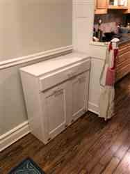 Elizabeth P. verified customer review of tilt out double bin with a drawer white (D-DRAW-W)