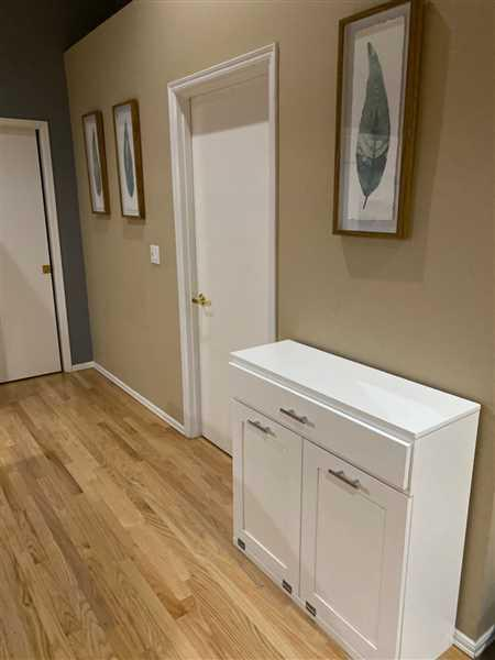 Kenny Della Valle verified customer review of tilt out double bin with a drawer white (D-DRAW-W)