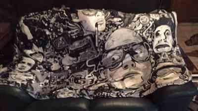 Anonymous verified customer review of Fear and Loathing mono Blanket