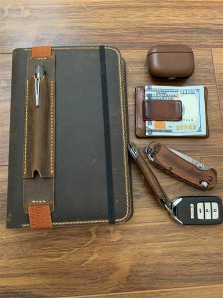 Anonymous verified customer review of Vintage Style Leather Journal Cover With Pen Sleeve For Moleskine Journals