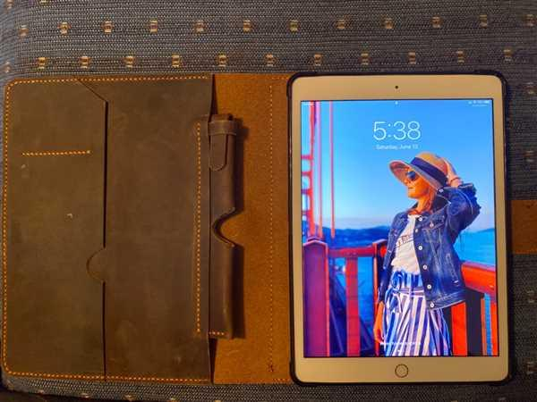 Vintage Rebellion Vintage Style Handmade Leather iPad Stand Organizer Cover Review