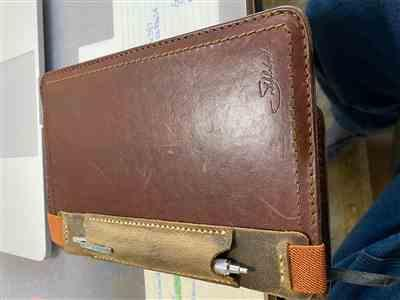Anonymous verified customer review of Moleskine, Leuchtturm, A5 Leather Pen Sleeve