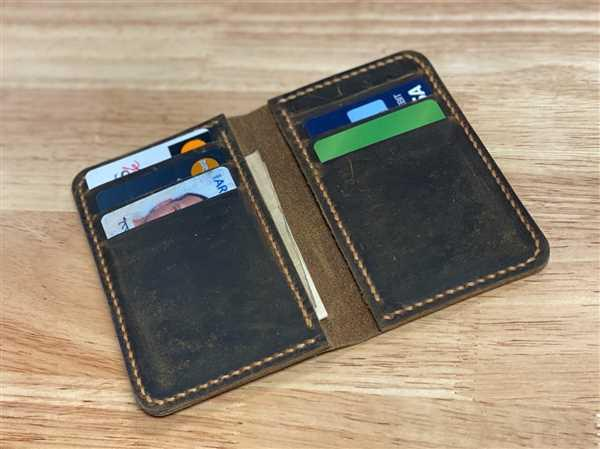 Michael Drager verified customer review of Vintage Style Handmade Distressed Leather Vertical Bi-fold Wallet
