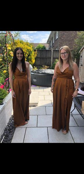 Oh Hello Clothing Sahara Maxi Dress Rust Review