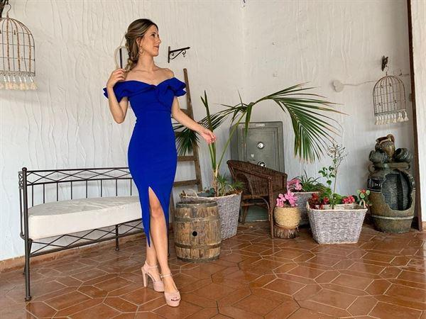 Oh Hello Clothing Sienna Midi Dress Cobalt Blue Review