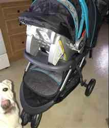 BayeMack3 verified customer review of Baby Stroller And Car Seat Travel System Luxury And Heavy Duty