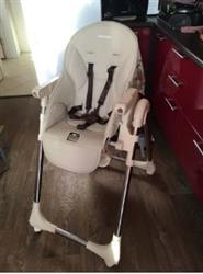 Lilina verified customer review of Portable Baby Feeding Highchair for Kids Feeding Table Folding Seats