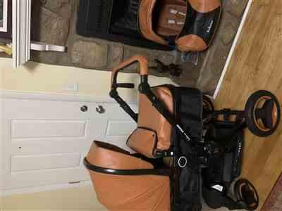 Nanmanian verified customer review of Luxury Baby Stroller 3 in 1 Travel System With Infant Seat