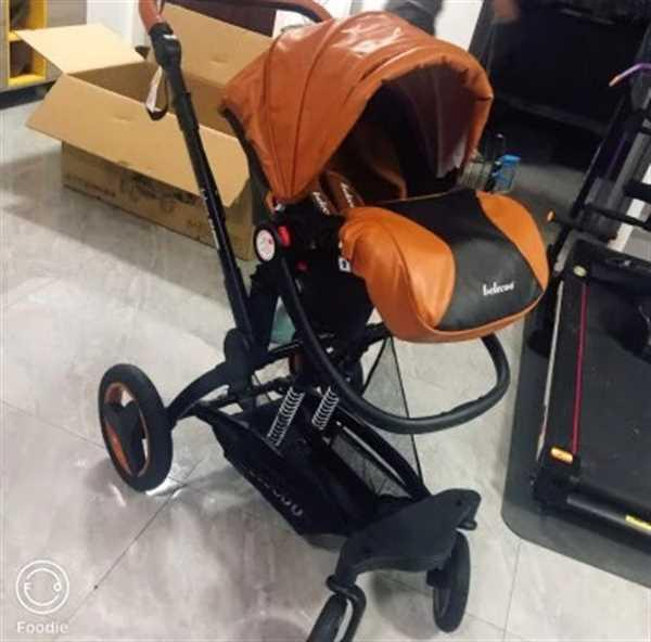 Olga verified customer review of Belecoo Brand Luxury Baby Stroller 3 in 1 Travel System With Infant Seat