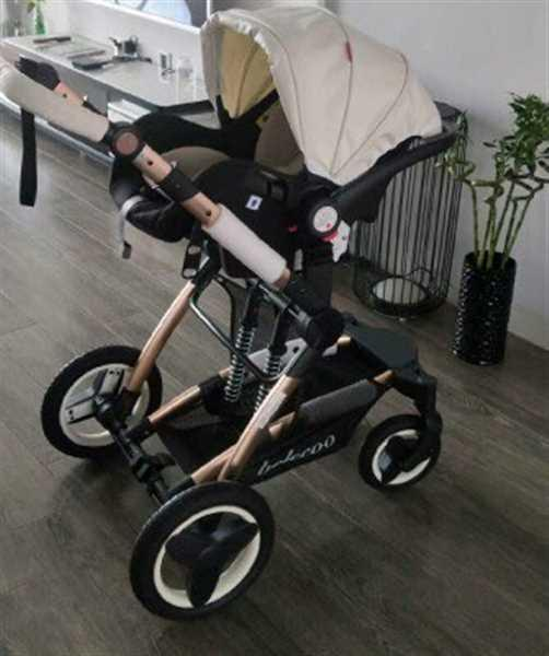 Jameshia verified customer review of Belecoo Brand Luxury Baby Stroller 3 in 1 Travel System With Infant Seat