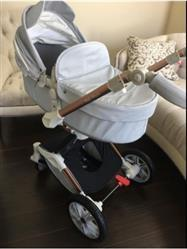 Amy verified customer review of 2018 New Hot Mom Luxury  Stroller High Landscape With Portable Car Seat LUX Pram