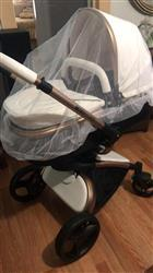 Nicol L. verified customer review of Aulon Baby Stroller 3 in 1 With Car Seat High View Pram For Newborns Folding 360 Degree Rotation