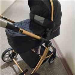 Jodi verified customer review of Baby Stroller 2 in 1 With Sleeping Basket Baby Carriage Travel System Pram