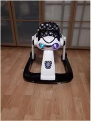 Eric verified customer review of Multi-Function Baby Walker Anti-rollover 6/7-18 Months Can Sit Can Push Foldable