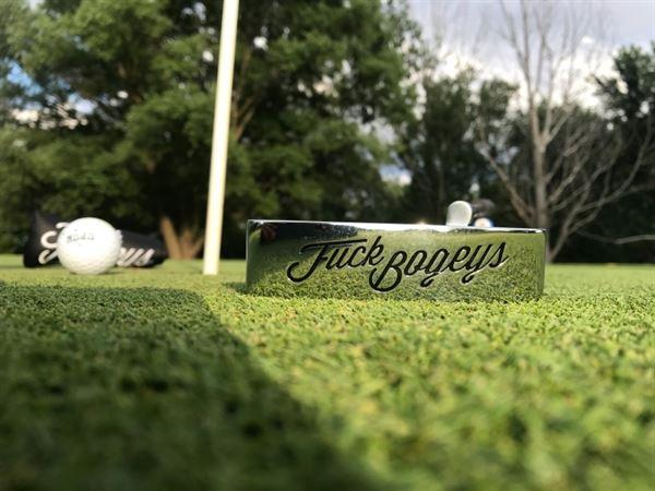 Alex S. verified customer review of Golf Gods - Milled Putter Fuck Bogeys