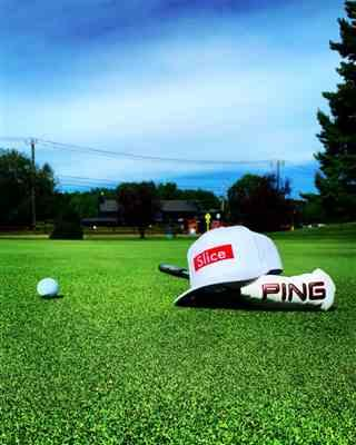 Doug N. verified customer review of Golf Gods - Slice White SnapBack