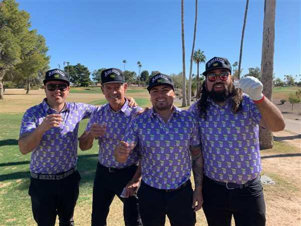teamgolfgodsusa Golf Gods - Lick, Sip, Suck Tequila Cool Tech Performance Polo Review