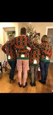 Judith Young verified customer review of Holiday Reindeer Sweater