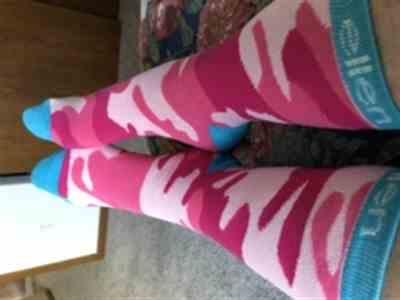 The Ellen DeGeneres Show Shop Pink Camo Socks Review