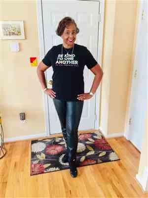 Marcia Keller Neal verified customer review of Watercolor Be Kind T-shirt