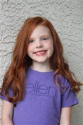 Melissa W. verified customer review of ellen Show Purple Kids Tee
