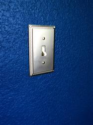 Joyce K. verified customer review of Georgian Satin Nickel Cover Plates