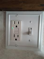 Danielle S. verified customer review of Continental White 1 Duplex Outlet