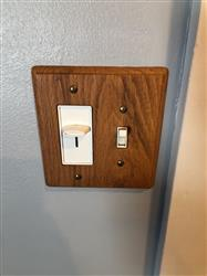 Kelli P. verified customer review of Contemporary Light Oak Cover Plates