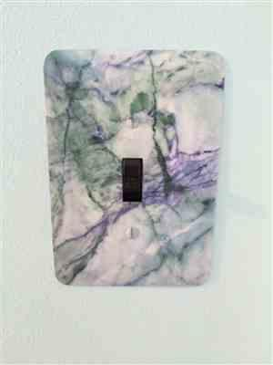 AnnMarie Williams  verified customer review of Powder Ash Marble Cover Plates