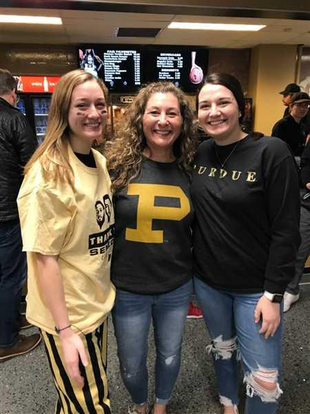 Wendi Meier verified customer review of Block P Purdue University Crewneck